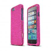 Hot Pink Bling Gems Apple iPhone 6 Crystal Bling Hard Plastic Case Cover