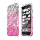Hot Pink Waterfall Apple iPhone 6 Crystal Bling Hard Plastic Case Cover