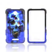 Blue Skull for ZTE Score X500 Hard Case