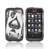 Ace Skull on Gray for AT&T Fusion U8652 Rubber HardCase