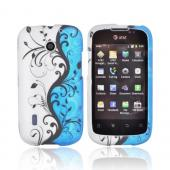 Black Vines for AT&T Fusion U8652 Rubberized Hard Case