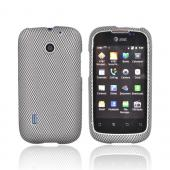 Black/Gray Carbon for AT&T Fusion U8652 Rubber HardCase