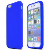 Blue Apple iPhone 6 Soft Flexible Reinforced Silicone Skin Case