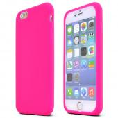 Hot Pink Apple iPhone 6 Soft Flexible Reinforced Silicone Skin Case